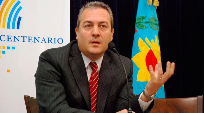 Ministro de Producción de la provincia de Buenos Aires Cristian Breitenstein